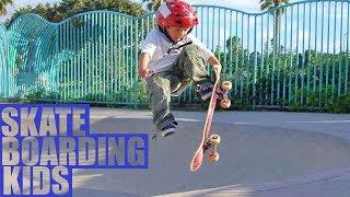BEST SKATEBOARDING TRICKS OF KIDS 2018 ep.6